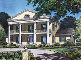 plantation house plans. Simple Plans Colonial Southern Plantation Design With Grand Appeal House Plans L