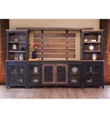 122 inch] Pueblo Barndoor Wall Unit - Simply Woods Furniture ...