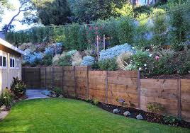 rustic fence cagwin dorward novato ca wood retaining walls