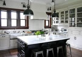 large kitchen island for farmhouse style