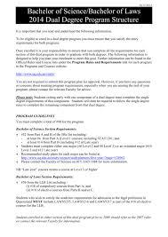 Bsc Llb Program Planner
