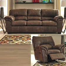 ashley recliners furniture sofa recliner ashley reclining sofa with drop down table