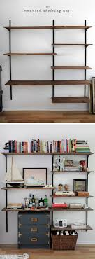 Wall To Wall Bookshelf Dawns House Diy Library Shelving