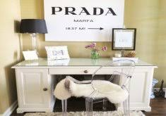 meagan home office. Lovely Chic Office Decor Stylish Meagan Wardu0027s Girly Home {office Tour | H