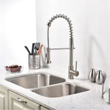 Kitchen Faucets Brushed Nickel Kitchen Faucets Kitchen Sink Faucet With Sprayer With Quilmes