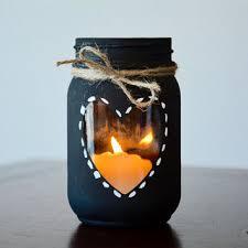 Mason Jars Decorated With Twine Golden Upcycling on Wanelo 36