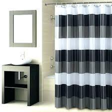 dark shower curtain black blue and tiffany white