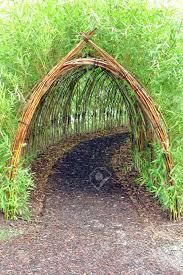 stunning creative diy garden archway design ideas 34