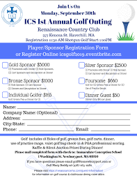 Ics Golf Outing Immaculate Conception School