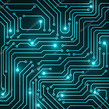 Circuit Board Abstract Technology Background Vector Illustration