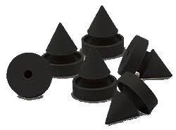 herco urt601b metal frame door silencer solid black rubber 6 pcs amazon industrial scientific