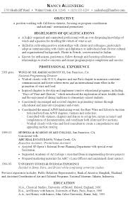 Sample Resume for Program Coordination and Promotions