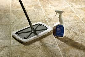 cleaning vinyl floors with an armstrong flooring solution