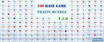 Update} 100 TRAITS BUNDLE_P3 Love Types V1.0 | Vicky Sims (chingyu1023) on  Patreon