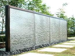 Outdoor Water Wall Features Garden Walls Petal Glass Fountain