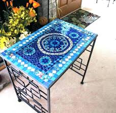 mosaic tile table diy tile patio table top captivating mosaic outdoor slate kitchen side concrete diy outdoor mosaic tile table