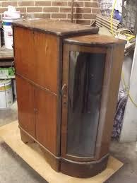 art deco furniture restoration. art deco cocktail cabinet furniture repair u0026 restoration crafty old woodworker