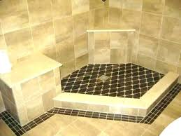 tile shower surround ideas a wall cost bathtub best floor bathrooms winsome for showers til