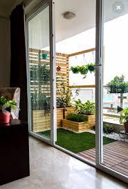 Sliding Door Designs For Balcony Sliding Door And Dark Curtains Views Apartment Balcony