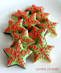 christmas star cookies.  Cookies Mini Christmas Star Cookies In N