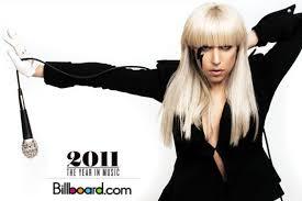 Lady Gaga Listed In Billboard 2011 Year End Charts Little