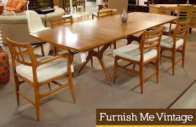 dazzling ideas mid century dining table and chairs 15