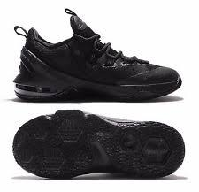 lebron james shoes 13 black. new nike lebron xiii 13 youth kids athletic shoes, black/black, 834347- james shoes black