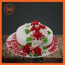 Wedding Anniversary Cake Delivery All Over Karachi