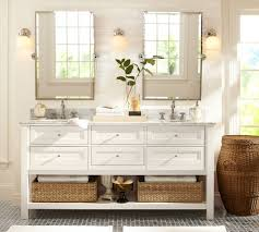 white bathroom vanity mirrors. Perfect White Complete Traditional Bathroom Using White Vanity And Awesome  Mirrors On Tile Wall On