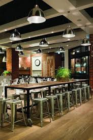 Kitchen Interior Fittings Kitchen Capital Cafe Modern Industrial Interior Silver Stools
