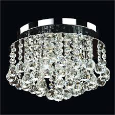 chandeliers crystal flush mount crystal ball trim prestige 604 by glow lighting waterford crystal flush