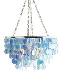 turquoise chandelier lighting. Mariana 3-Light Chandelier Turquoise Lighting