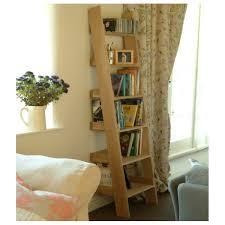 Oak Shelf Ladder Narrow FREE DELIVERY OFFER