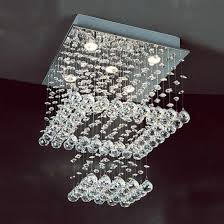 high imitation swarovski crystal ceiling lamp gd 8018 5