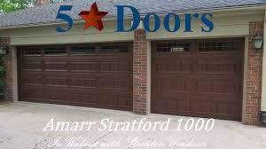 amarr heritage garage doors. Amarr Stratford 1000 In Premium Wood Grain Heritage Garage Doors R