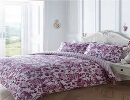 toile duvet cover set pink double