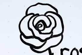 How To Draw A Simple Rose Bud Tattoo Step By With Pencil Pen