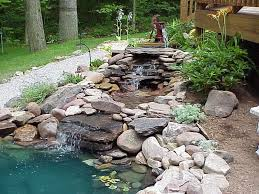 garden pond liners. Preformed Pond Liners With Stone Gravel Garden