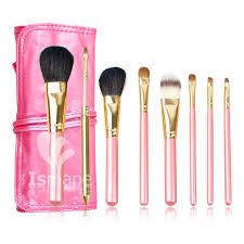 8 pcs pink plete makeup brush set professional luxury set make up tools kit powder blending