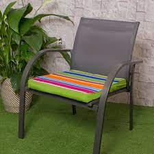 technicolour garden chair cushions 2 pack