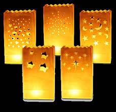 Lanterne Da Giardino Economiche : Sacchetti ignifughi lanterne portacandele di carta