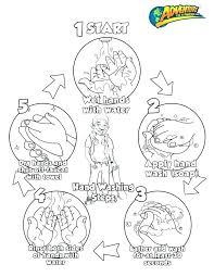 Germ Worksheets Coloring Page Cleanliness Clip Art Hygiene Germs ...