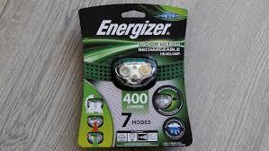 Обзор <b>налобного фонаря Energizer Vision</b> Ultra Rechargeable ...