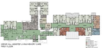 Meadows Assisted Living And Memory Care Tour  Meadows Assisted Assisted Living Floor Plan
