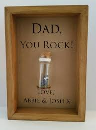 dads will love this fun little you rock keepsake quirky unique with a serious message dads really do rock smile every time he looks at it