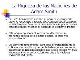 Resultado de imagen para adam smith 1776 la riqueza de las naciones