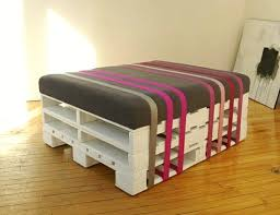 furniture upcycle ideas. Upcycled Pallet Ottoman. Get An Old Pallet, Ribbons Or Belts And Be Inspired By David Alexandre Cote Of BCK To Create Functional Pieces Furniture. Furniture Upcycle Ideas N