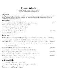 Phlebotomy Resume Sample Resume Sample Sample Resume Download Resume