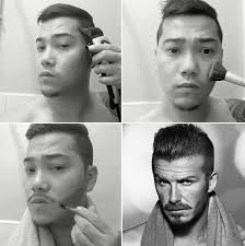 here are some instructional images to help you look like your favorite famous person funny makeup transformation
