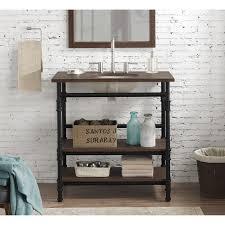 open shelf vanity. Exellent Open Shop 36inch Industrial Open Shelf Vanity  Free Shipping Today  Overstockcom 11193102 On O